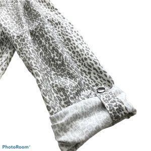 Joie Jackets & Coats - Joie Barker Anorak Leopard Cheetah Print Jacket